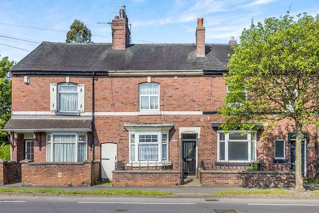 Thumbnail Terraced house for sale in Leek Road, Milton, Stoke-On-Trent
