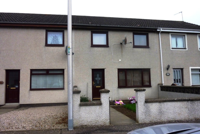 Thumbnail Terraced house to rent in Gannochy Crescent, Montrose