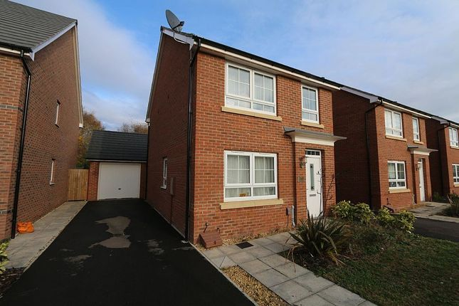 Thumbnail Detached house for sale in Peregrine Way, Warwick, Warwickshire