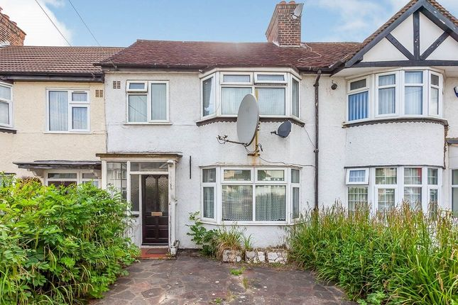 Thumbnail Terraced house to rent in Adderley Road, Harrow