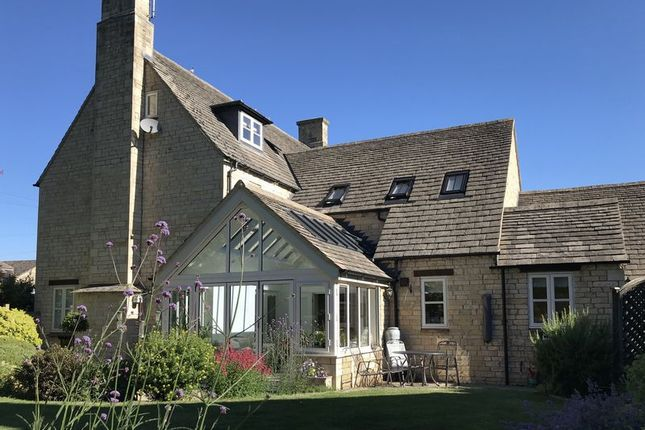 Thumbnail Detached house for sale in Prebendal Green, Yarwell, Peterborough