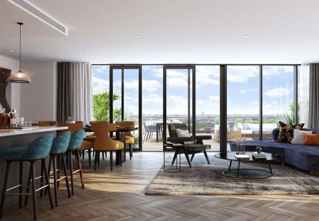 Thumbnail Flat for sale in Merino Wharf, London Dock, Wapping