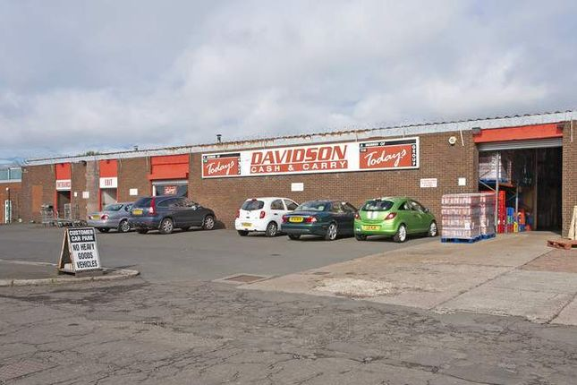 Thumbnail Commercial property for sale in Brownsburn Industrial Estate, Airdrie