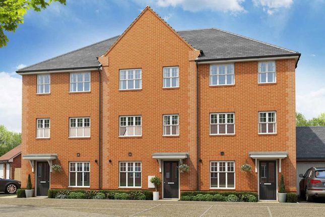"""Thumbnail Terraced house for sale in """"The Belbury - Plot 33"""" at Drayton Road, Abingdon"""