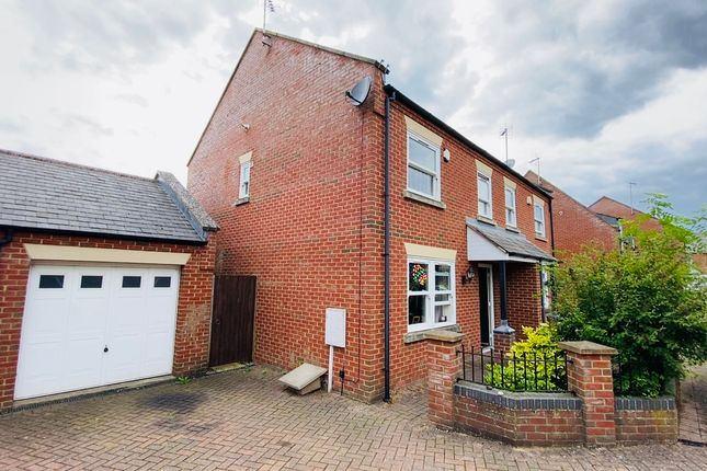 Thumbnail Semi-detached house for sale in Minster Court, Long Sutton, Spalding