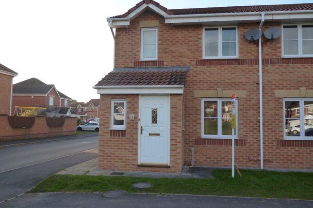 Thumbnail Semi-detached house to rent in Watermans Walk, Carleton Grange, Carlisle