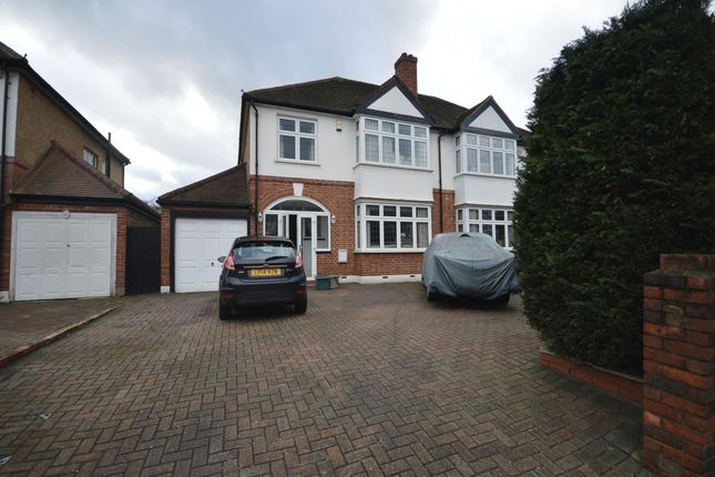 Thumbnail Semi-detached house to rent in Malden Road, Worcester Park