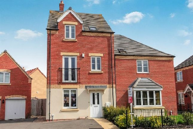 Thumbnail Town house to rent in Crowland Road, Eye, Peterborough