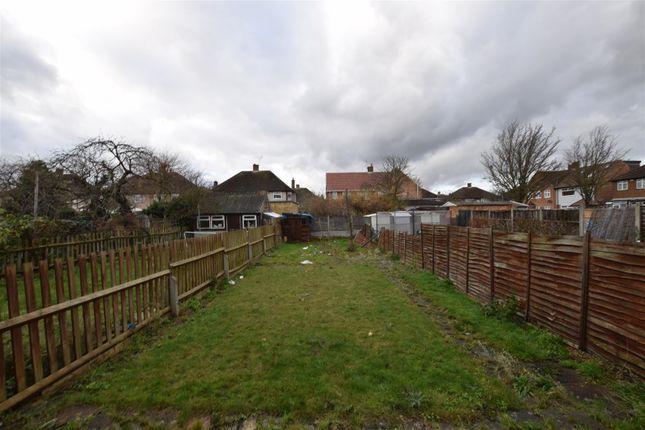 Rear Garden of Brian Road, Chadwell Heath, Romford RM6