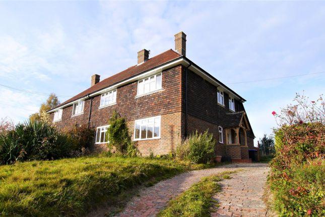 Thumbnail Semi-detached house to rent in Bishopstone Cottages, Bishopstone Lane, Ansty, Haywards Heath