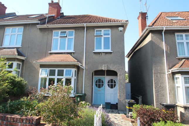 Thumbnail End terrace house for sale in Branksome Road, Redland, Bristol