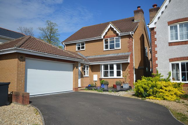 Thumbnail Detached house for sale in Pridhams Way, Pridhams Way, Exminster, Near Exeter
