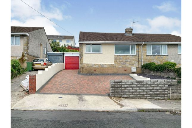 Thumbnail Semi-detached bungalow for sale in St. Peters Close, Llanharan, Pontyclun