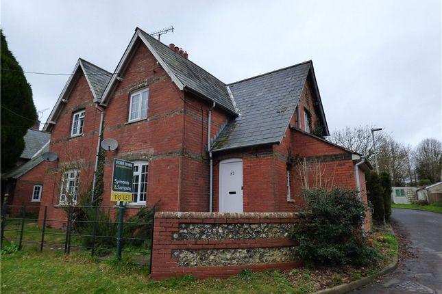 3 bed semi-detached house to rent in Dorchester Road, Stratton, Dorchester, Dorset
