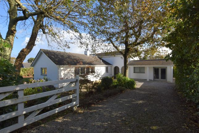 Thumbnail Detached bungalow for sale in Trencrom Lane, St. Ives