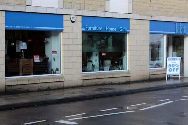 Thumbnail Retail premises to let in The Byre, Strothers Lane, Inverness