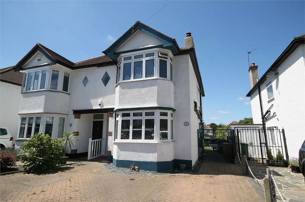 Thumbnail Semi-detached house for sale in Lavington Road, Croydon, Surrey