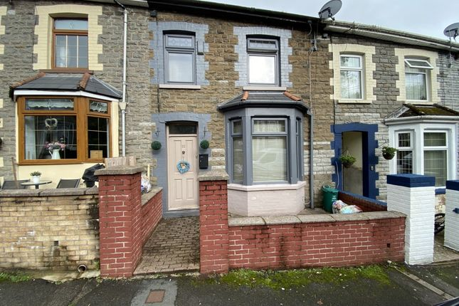 Thumbnail Terraced house for sale in Penrhys Avenue, Tylorstown -, Tylorstown