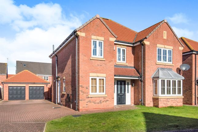 Thumbnail Detached house for sale in Pools Brook Park, Kingswood, Hull