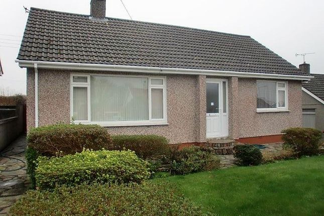 Thumbnail Detached bungalow to rent in Trevarno Close, Trewoon, St. Austell