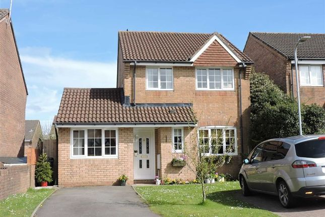 Thumbnail Detached house for sale in Keepers Close, Penllergaer, Swansea