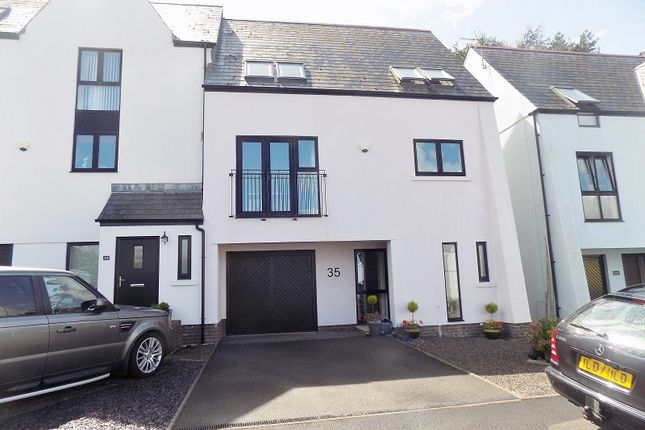Thumbnail Semi-detached house for sale in Duffryn Oaks Drive, Pencoed, Bridgend.
