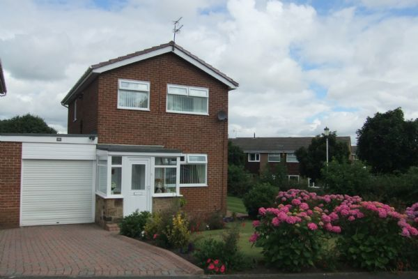 Thumbnail Detached house for sale in Kepier Chare, Crawcrook, Ryton