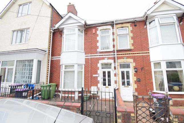 Thumbnail Terraced house for sale in Conway Road, Wainfelin, Pontypool