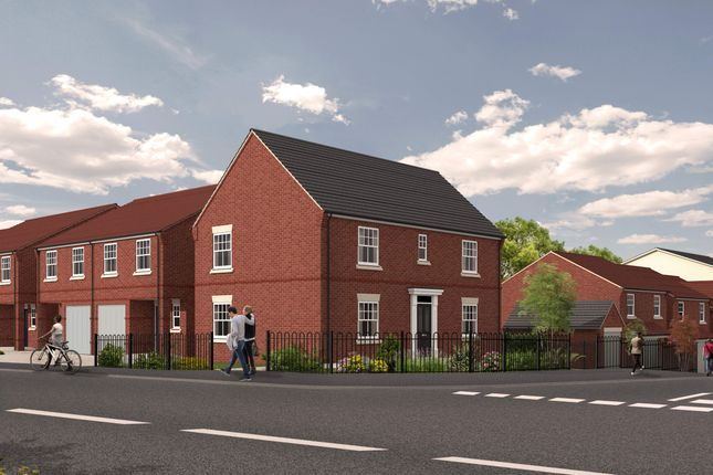 Thumbnail Detached house for sale in Plot 2, 1C Eastbank Drive, Northwick, Worcester