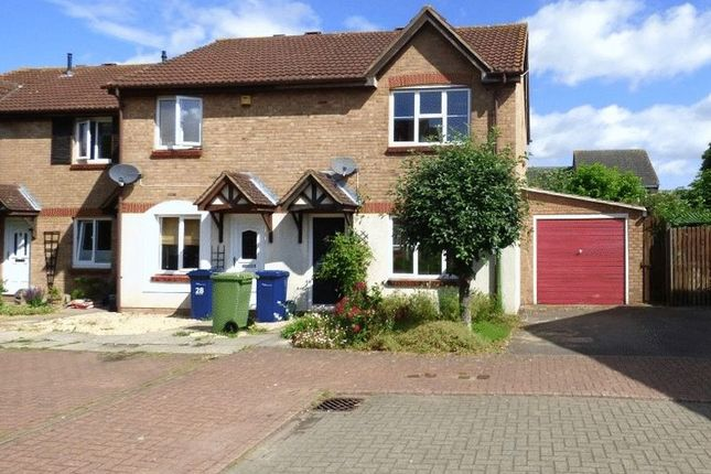 Thumbnail End terrace house for sale in Minstrel Way, Churchdown, Gloucester