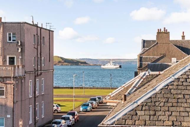 Sea View of Union Street, Largs, North Ayrshire, Scotland KA30