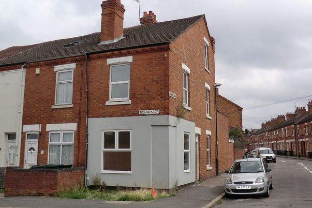 Thumbnail End terrace house to rent in Nicholls Street, Hillfields, Coventry