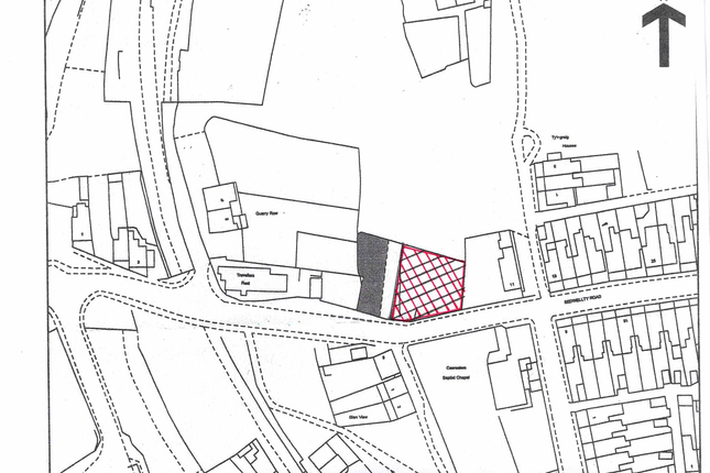 Thumbnail Land for sale in Bedwellty Road, Aberbargoed