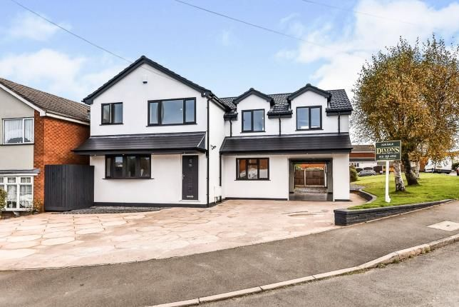 Thumbnail Detached house for sale in Lawnswood Avenue, Burntwood, Staffordshire