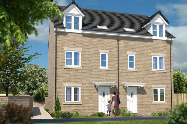 Thumbnail Town house for sale in Scholar's Park, Bourne Avenue, Darlington, County Durham