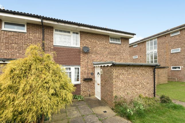Thumbnail End terrace house for sale in Edgefield Close, Redhill