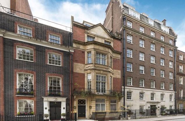 Thumbnail Terraced house for sale in Charles Street, Mayfair, London