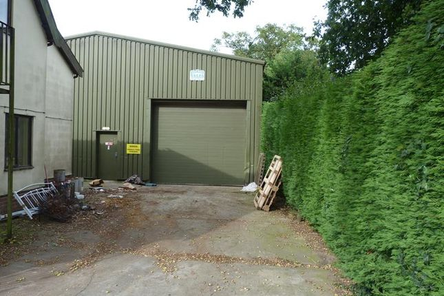 Thumbnail Light industrial to let in Warehouse/Workshop, The Old School House, Norwich Road, Scoulton, Norfolk