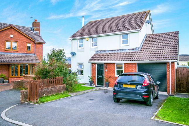Thumbnail Detached house for sale in Clos Masons, Kenfig Hill, Bridgend