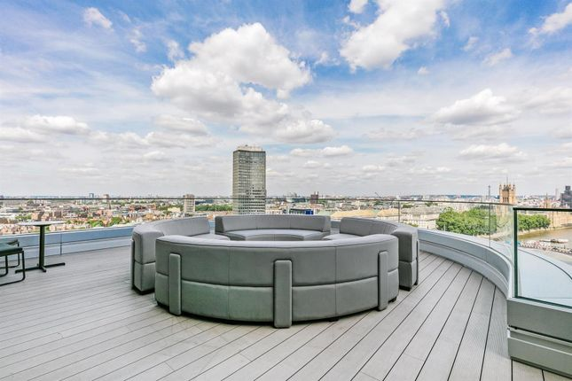 Roof Terrace of Tower One, The Corniche, 23 Albert Embankment, London SE1