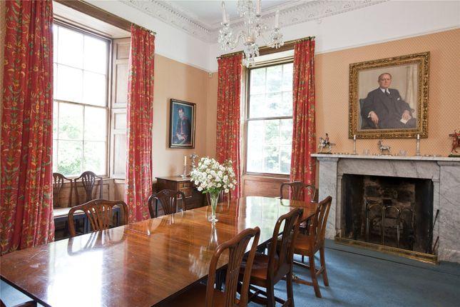 Dining Room of Quarter, Denny, Stirlingshire FK6
