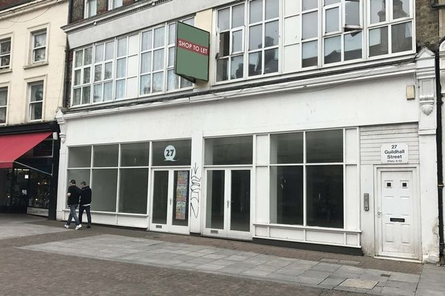 Thumbnail Retail premises to let in Guildhall Street, Folkestone