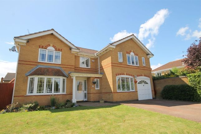 Thumbnail Detached house for sale in Highslade, Brixworth, Northampton