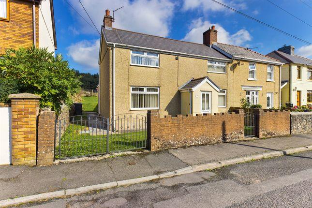 Thumbnail Semi-detached house for sale in Nant-Y-Croft, Rassau, Ebbw Vale, Gwent