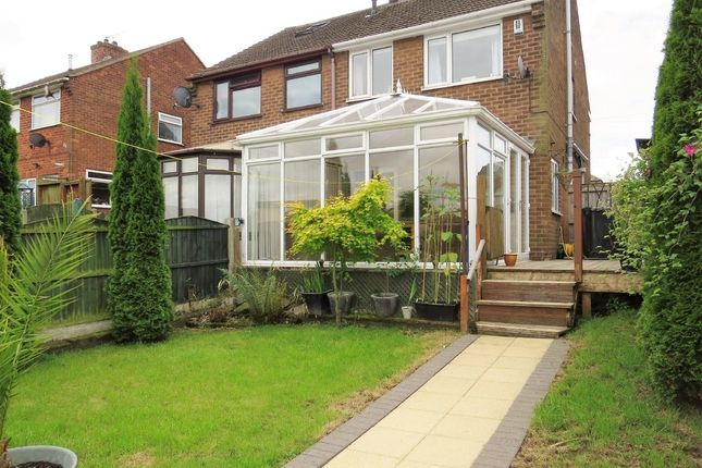 Thumbnail Semi-detached house for sale in North Wingfield Road, Grassmoor, Chesterfield