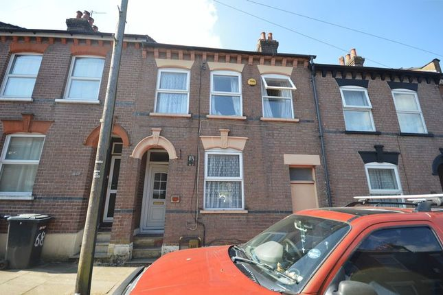 Thumbnail Terraced house for sale in Cowper Street, Luton