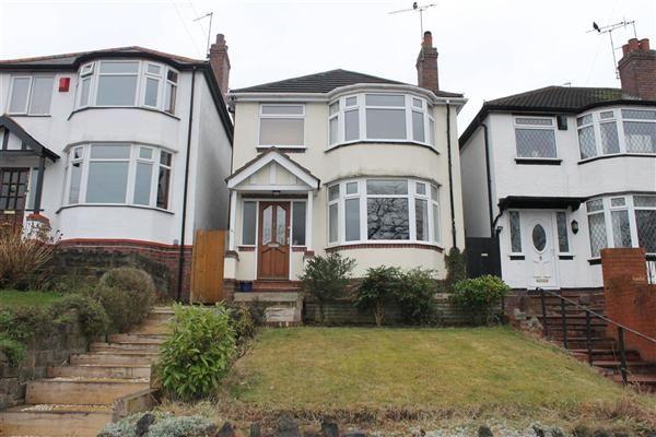 Thumbnail Detached house to rent in Warren Road, Kingstanding, Birmingham