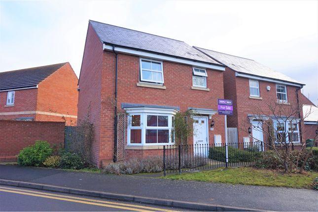 Thumbnail Detached house for sale in Quayside Way, Hempsted, Gloucester