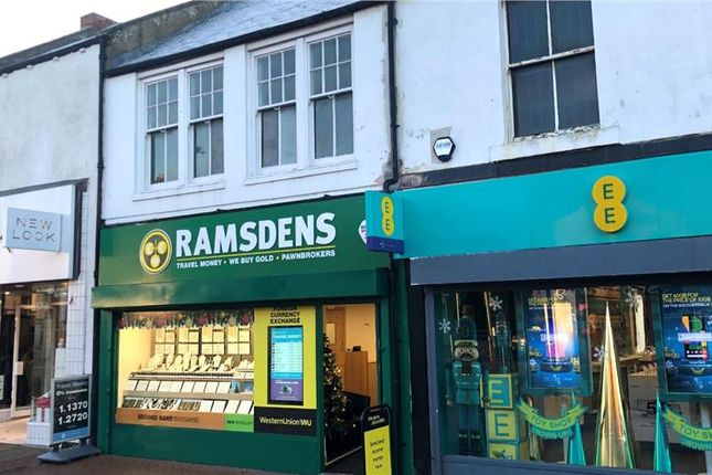 Thumbnail Commercial property for sale in Station Road, Floor, Ashington, Northumberland