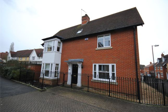 Thumbnail Detached house for sale in Castlefields, Great Leighs, Chelmsford, Essex